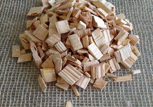 Chipsuri din lemn de cires salbatic