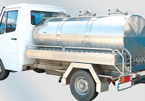 Rezervor cisterna pentru transport lapte