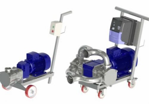 Pompa cu rotor flexibil-Unitech Seria 350 Model PL350K